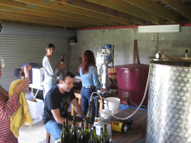Bottling the 2013 vintage